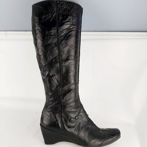 Hispanitas leather knee high boots size 8.5